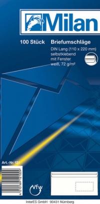 Briefumschlag DL SK FE 100er