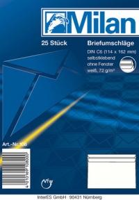 Briefumschlag C6 SK 25er