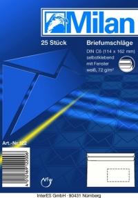 Briefumschlag C6 SK FE 25er